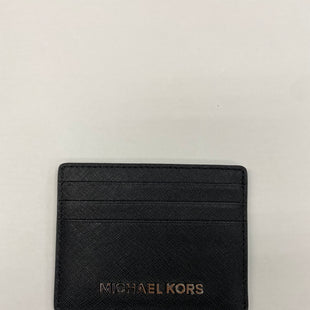 Primary Photo - BRAND: MICHAEL KORS STYLE: WALLET COLOR: BLACK SIZE: SMALL OTHER INFO: CARD HOLDER SKU: 200-20012-9039
