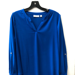 Primary Photo - BRAND: SUSAN GRAVER STYLE: TUNIC LONG SLEEVE COLOR: ROYAL BLUE SIZE: 12 SKU: 200-200199-20439