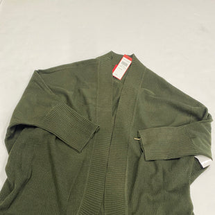 Primary Photo - BRAND:    CLOTHES MENTOR STYLE: SWEATER CARDIGAN LIGHTWEIGHT COLOR: GREEN SIZE: S SKU: 200-200197-36911