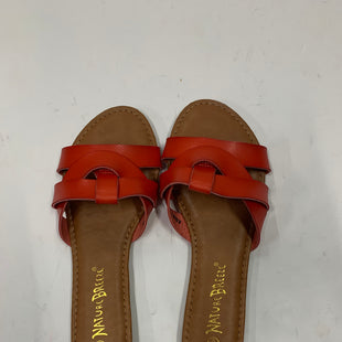 Primary Photo - BRAND: NATURE BREEZE STYLE: SANDALS FLAT COLOR: RED SIZE: 8.5 SKU: 200-200207-103
