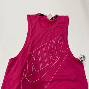 Primary Photo - BRAND: NIKE STYLE: ATHLETIC TANK TOP COLOR: PINK SIZE: S SKU: 200-200178-23037