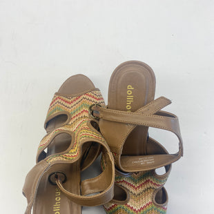 Primary Photo - BRAND: DOLLHOUSE STYLE: SANDALS HIGH COLOR: BROWN SIZE: 12 SKU: 200-200202-2414