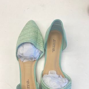 Primary Photo - BRAND: JUST FAB STYLE: SHOES FLATS COLOR: MINT SIZE: 11 SKU: 200-200199-10760