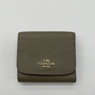 Primary Photo - BRAND: COACH STYLE: WALLET COLOR: BROWN SIZE: SMALL SKU: 200-200199-19452