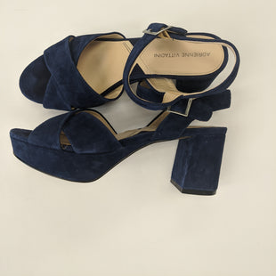 Primary Photo - BRAND: ADRIENNE VITTADINI STYLE: SHOES HIGH HEEL COLOR: NAVY SIZE: 8.5 SKU: 200-200178-14050