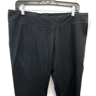 Primary Photo - BRAND: ATHLETIC WORKS STYLE: ATHLETIC CAPRIS COLOR: BLACK SIZE: XL SKU: 200-200199-19555