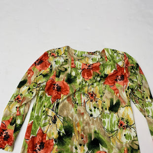 Primary Photo - BRAND: JM COLLECTIONS STYLE: TOP LONG SLEEVE COLOR: FLORAL SIZE: M SKU: 200-200178-16807