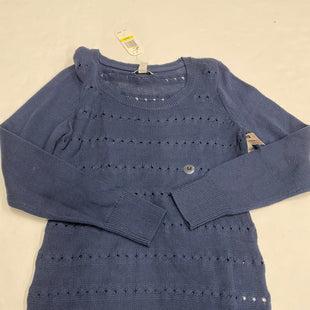 Primary Photo - BRAND: NAUTICA STYLE: SWEATER LIGHTWEIGHT COLOR: NAVY SIZE: M SKU: 200-200178-24219
