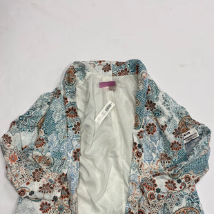 Primary Photo - BRAND: CHICOS STYLE: JACKET OUTDOOR COLOR: PAISLEY SIZE: L SKU: 200-200199-4818