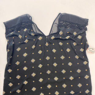 Primary Photo - BRAND: LIBERTY LOVE STYLE: TOP SHORT SLEEVE COLOR: BLACK SIZE: 3X SKU: 200-200178-25915