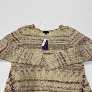 Primary Photo - BRAND:    CLOTHES MENTOR STYLE: SWEATER HEAVYWEIGHT COLOR: BEIGE SIZE: L OTHER INFO: ARTESIA - SKU: 200-200204-400