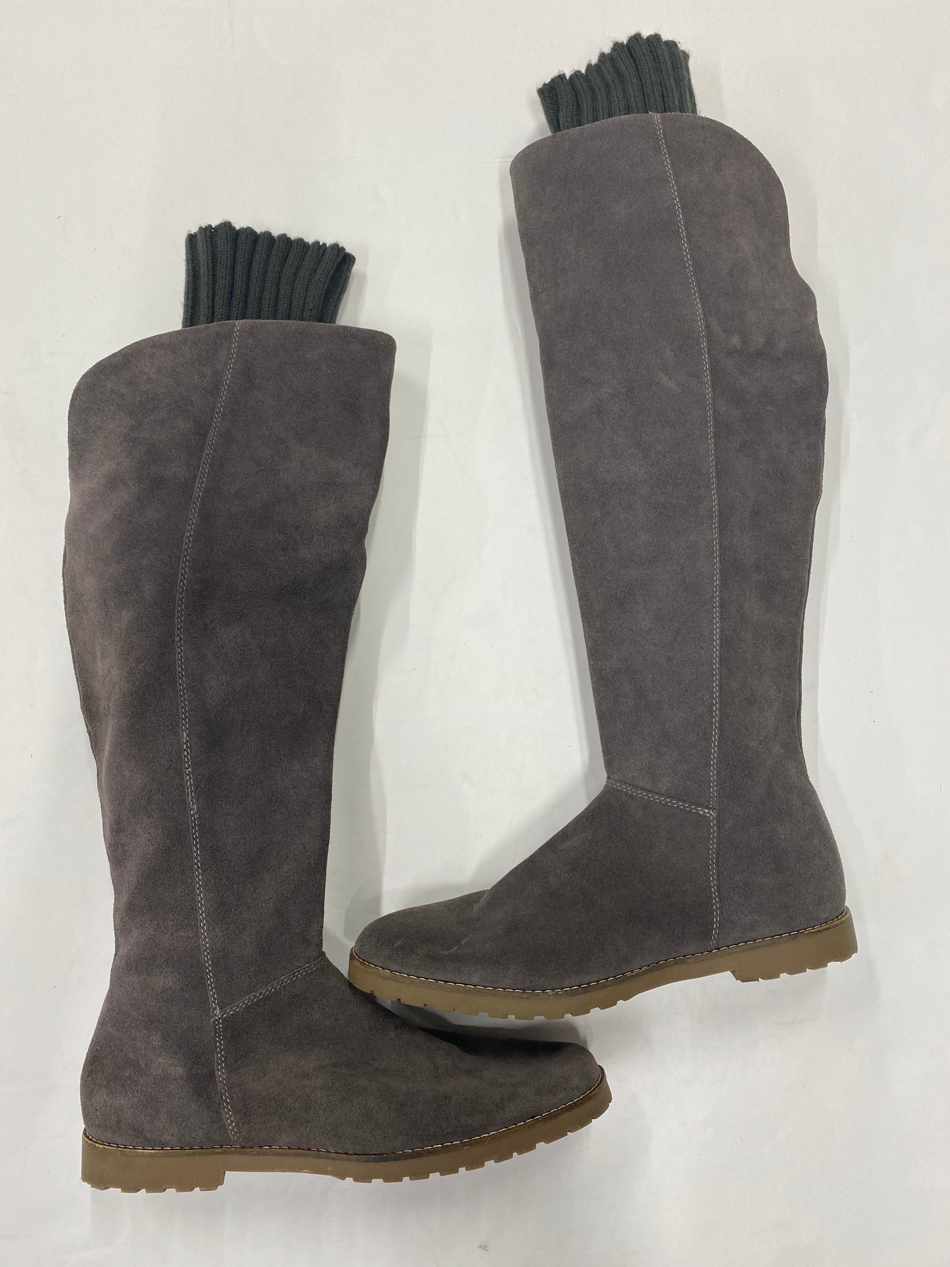 Photo #1 - BRAND: CORSO COSMO <BR>STYLE: BOOTS KNEE <BR>COLOR: GREY <BR>SIZE: 8.5 <BR>SKU: 200-20012-8892