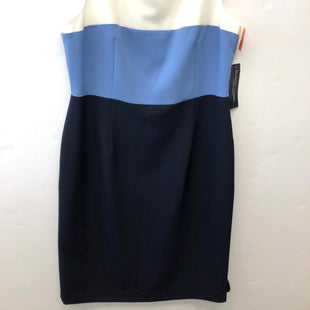 Primary Photo - BRAND: EVAN-PICONE STYLE: DRESS SHORT SLEEVELESS COLOR: BLUE WHITE SIZE: 10 SKU: 200-200199-18942