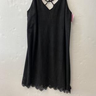 Primary Photo - BRAND: SUGAR LIPS STYLE: DRESS SHORT SLEEVELESS COLOR: BLACK SIZE: L SKU: 200-200178-29898