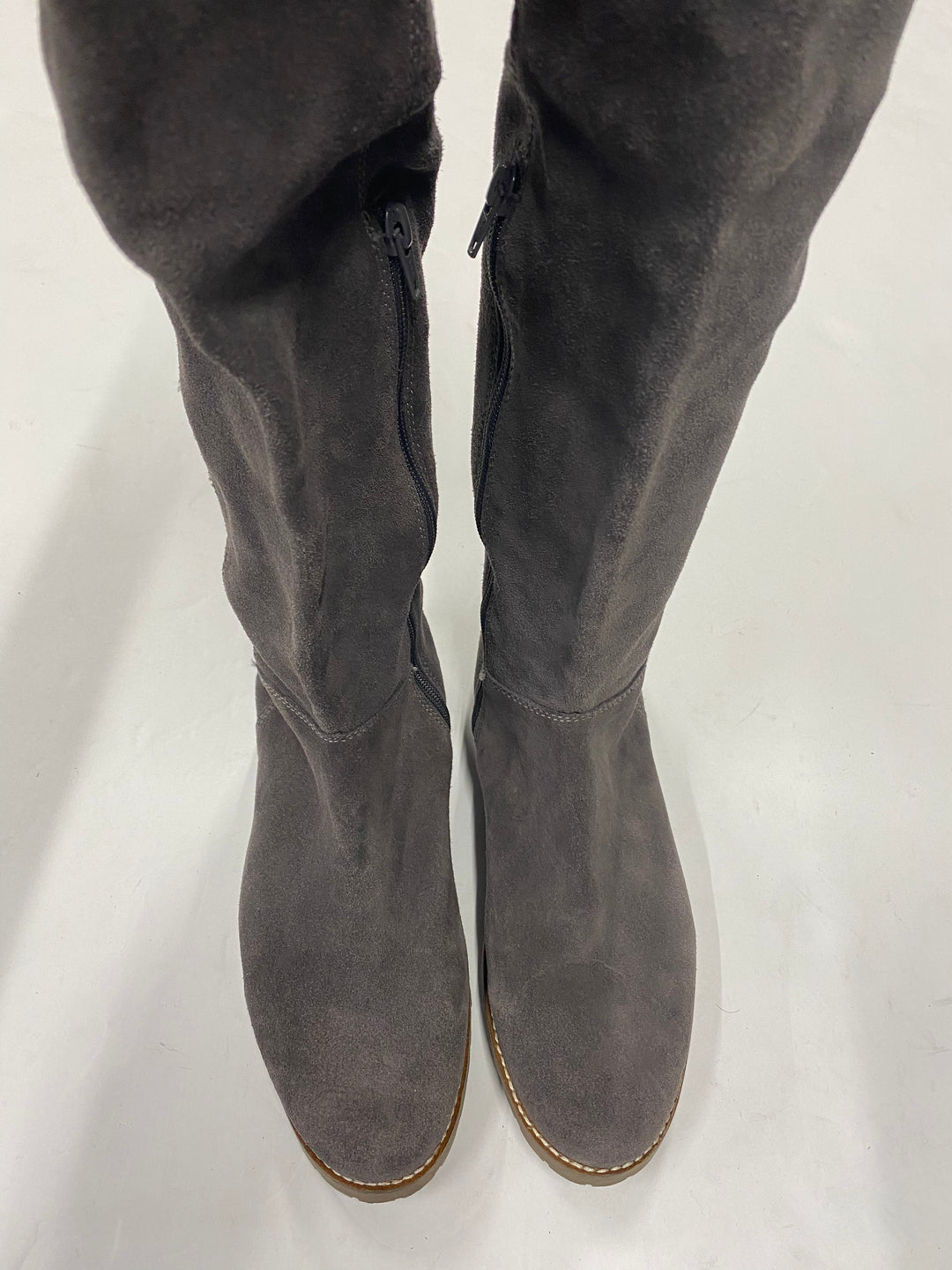 Photo #4 - BRAND: CORSO COSMO <BR>STYLE: BOOTS KNEE <BR>COLOR: GREY <BR>SIZE: 8.5 <BR>SKU: 200-20012-8892