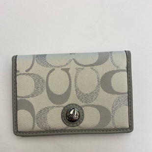 Primary Photo - BRAND: COACH STYLE: WALLET COLOR: GREY SIZE: SMALL SKU: 200-200202-5813