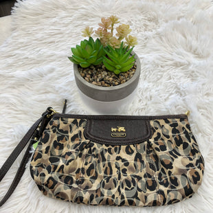 Primary Photo - BRAND: COACH STYLE: WRISTLET COLOR: LEOPARD PRINT SKU: 200-200199-19802