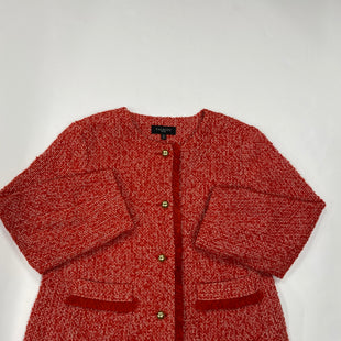 Primary Photo - BRAND: TALBOTS STYLE: BLAZER JACKET COLOR: RED SIZE: 16 OTHER INFO: PETITE SKU: 200-200192-2764