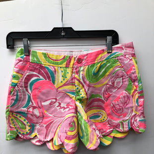 Primary Photo - BRAND: LILLY PULITZER STYLE: SHORTS COLOR: PINKGREEN SIZE: 0 OTHER INFO: DOUBLE 00 SKU: 200-200199-20242
