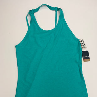 Primary Photo - BRAND: REEBOK STYLE: ATHLETIC TANK TOP COLOR: TURQUOISE SIZE: S SKU: 200-200178-27244