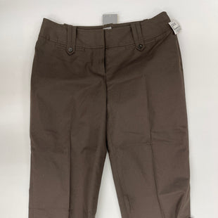 Primary Photo - BRAND: ANN TAYLOR STYLE: CAPRIS COLOR: BROWN SIZE: 0 SKU: 200-200202-5406