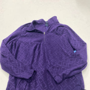 Primary Photo - BRAND: LANDS END STYLE: FLEECE COLOR: PURPLE SIZE: XL SKU: 200-200202-3581
