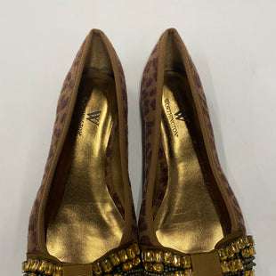 Primary Photo - BRAND: WORTHINGTON STYLE: SHOES FLATS COLOR: ANIMAL PRINT SIZE: 7 SKU: 200-20012-8741