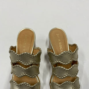 Primary Photo - BRAND: JACK ROGERS STYLE: SANDALS LOW COLOR: GOLD SIZE: 7.5 SKU: 200-200178-24130