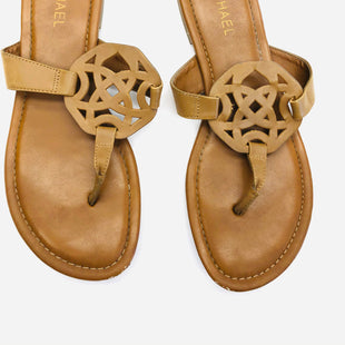 Primary Photo - BRAND: MICHAEL BY MICHAEL KORS STYLE: SANDALS FLAT COLOR: BROWN SIZE: 10 SKU: 200-200178-26472