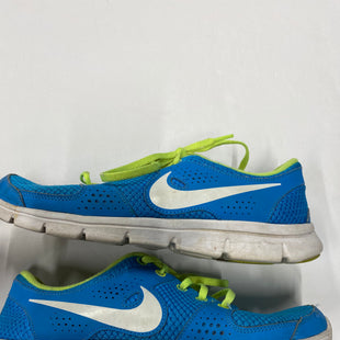 Primary Photo - BRAND: NIKE STYLE: SHOES ATHLETIC COLOR: BLUE GREEN SIZE: 7.5 OTHER INFO: AS IS SKU: 200-200194-7751