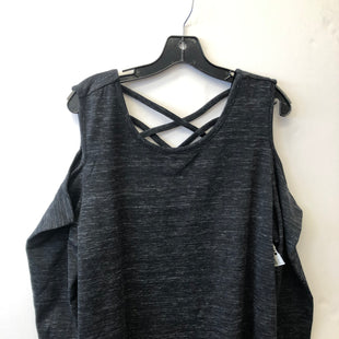 Primary Photo - BRAND: LANE BRYANT STYLE: ATHLETIC TOP COLOR: GREY SIZE: 1X SKU: 200-200199-18900