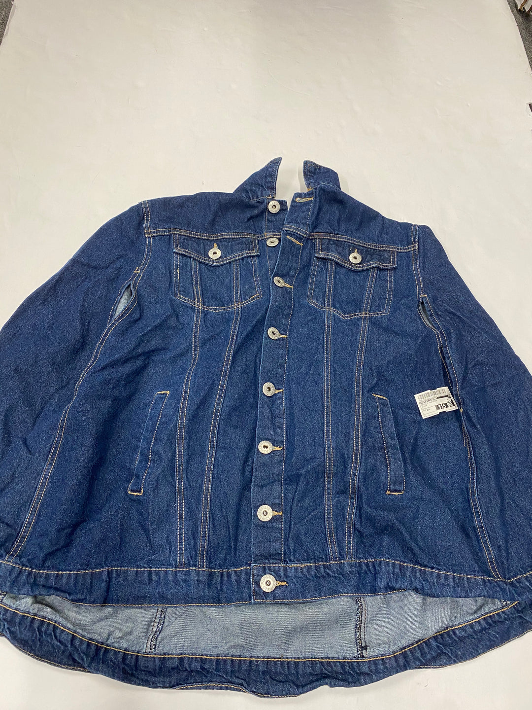 Primary Photo - BRAND: ASHLEY STEWART <BR>STYLE: JACKET OUTDOOR <BR>COLOR: DENIM <BR>SIZE: 24 <BR>SKU: 200-200199-16105