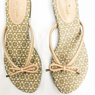 Primary Photo - BRAND: KATE SPADE STYLE: SANDALS FLAT COLOR: LIGHT PINK SIZE: 8.5 SKU: 200-200202-2757