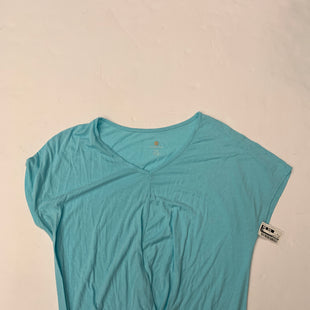 Primary Photo - BRAND: TANGERINE STYLE: TOP SHORT SLEEVE BASIC COLOR: BABY BLUE SIZE: XL SKU: 200-200178-17473