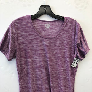 Primary Photo - BRAND: 32 DEGREES STYLE: ATHLETIC TOP SHORT SLEEVE COLOR: PURPLE SIZE: L SKU: 200-200178-28023