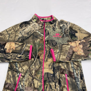 Primary Photo - BRAND:    CLOTHES MENTOR STYLE: JACKET OUTDOOR COLOR: CAMOFLAUGE SIZE: M OTHER INFO: MOSSY OAK - SKU: 200-200178-23556