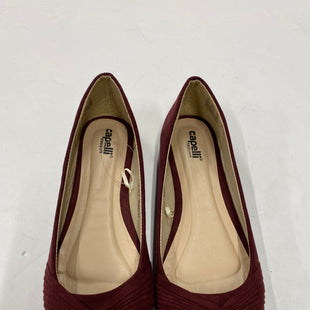 Primary Photo - BRAND: CAPELLI STYLE: SHOES FLATS COLOR: BURGUNDY SIZE: 6 SKU: 200-200178-20396
