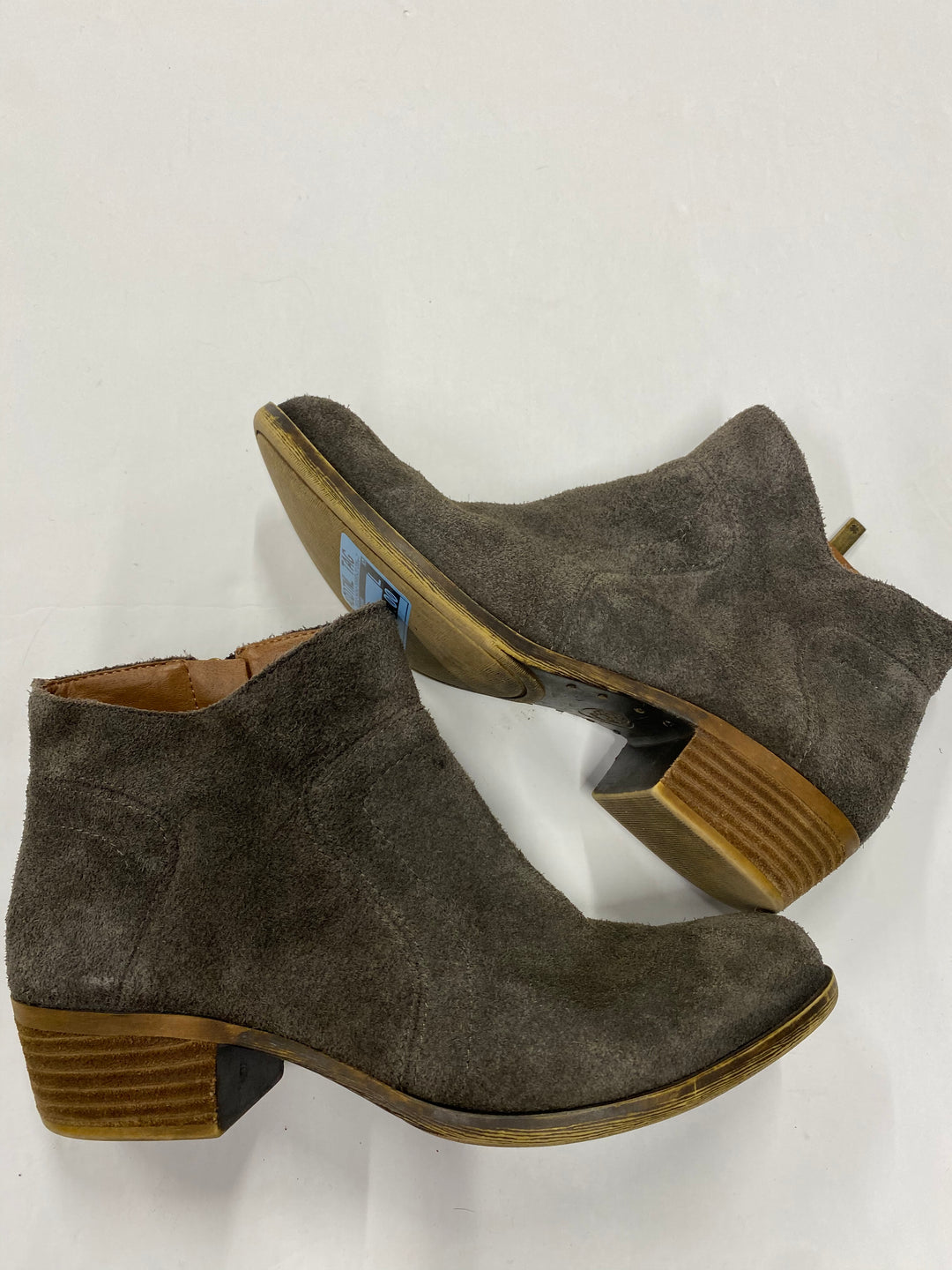 Photo #1 - BRAND: LUCKY BRAND <BR>STYLE: BOOTS ANKLE <BR>COLOR: BROWN <BR>SIZE: 6.5 <BR>SKU: 200-200202-3463