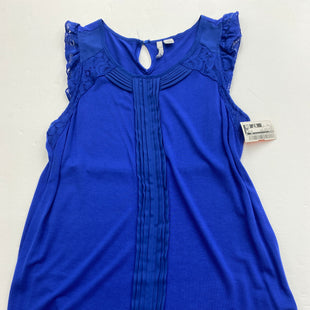 Primary Photo - BRAND: ELLE STYLE: TOP SLEEVELESS COLOR: ROYAL BLUE SIZE: XS SKU: 200-200199-15350