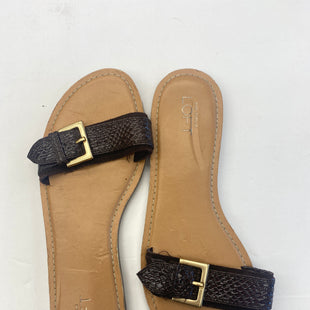 Primary Photo - BRAND: ANN TAYLOR LOFT STYLE: SANDALS FLAT COLOR: TAN SIZE: 8 SKU: 200-200194-5906
