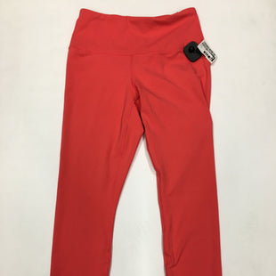 Primary Photo - BRAND: 90 DEGREES BY REFLEX STYLE: ATHLETIC PANTS COLOR: PINK SIZE: M SKU: 200-200178-25841