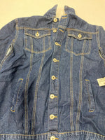Photo #1 - BRAND: ASHLEY STEWART <BR>STYLE: JACKET OUTDOOR <BR>COLOR: DENIM <BR>SIZE: 24 <BR>SKU: 200-200199-16105
