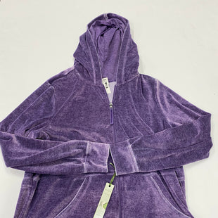 Primary Photo - BRAND: GREEN TEA STYLE: JACKET OUTDOOR COLOR: PURPLE SIZE: 1X SKU: 200-200194-7442