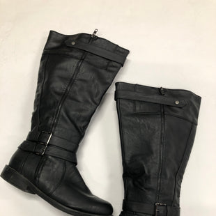 Primary Photo - BRAND: CATHERINES STYLE: BOOTS KNEE COLOR: BLACK SIZE: 11 SKU: 200-200194-7756