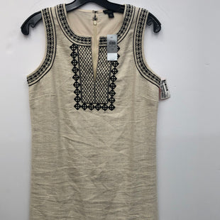 Primary Photo - BRAND: ANN TAYLOR STYLE: DRESS SHORT SLEEVELESS COLOR: IVORY SIZE: 2PETITE SKU: 200-200199-15338