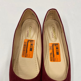 Primary Photo - BRAND: ROUGE STYLE: SHOES FLATS COLOR: MAROON SIZE: 7 SKU: 200-20012-9187