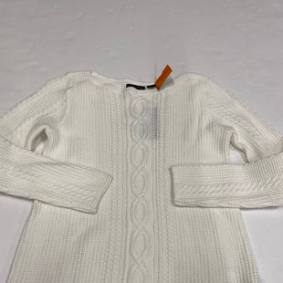 Primary Photo - BRAND: JEANNE PIERRE STYLE: SWEATER HEAVYWEIGHT COLOR: WHITE SIZE: S SKU: 200-200199-15025