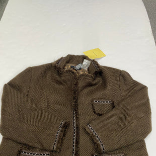 Primary Photo - BRAND: DIALOGUE QVC STYLE: BLAZER JACKET COLOR: BROWN SIZE: 26 SKU: 200-200202-3314