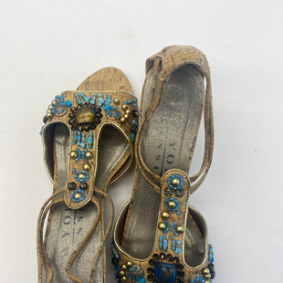 Primary Photo - BRAND: NEW YORK TRANSIT STYLE: SANDALS LOW COLOR: BLUE SIZE: 7.5 SKU: 200-200197-5492