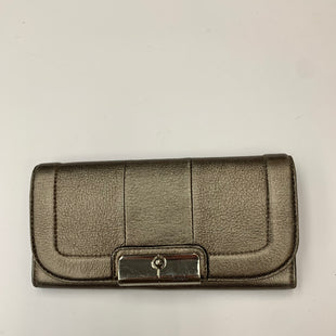 Primary Photo - BRAND: COACH STYLE: WALLET COLOR: PEWTER SIZE: LARGE SKU: 200-200178-27888